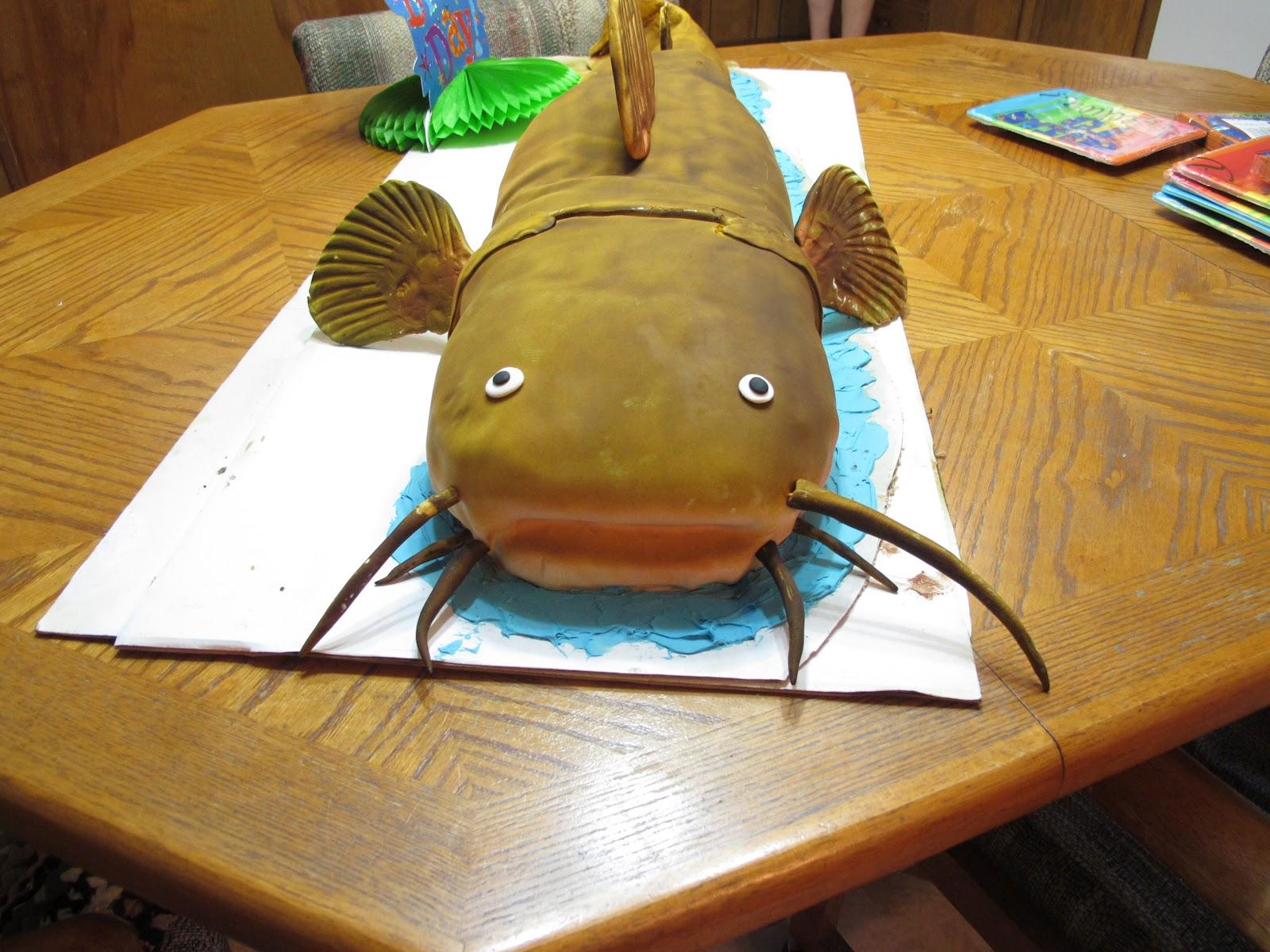 Cake Craft Catfish Cake