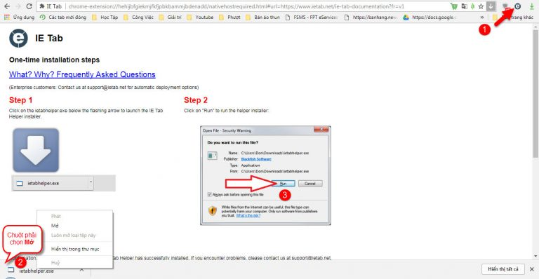 Hướng dẫn tải và cài đặt ie tab google chrome firefox