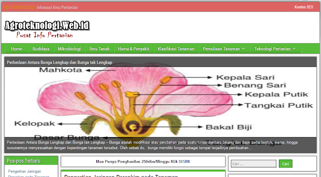 Agroteknologi.web.id Sumber Informasi Pertanian Indonesia by Anas Blogging Tips