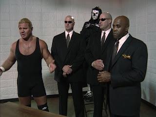 WCW Starrcade 1999 - Curt Hennig, La Parka, Vincent and Creative Control