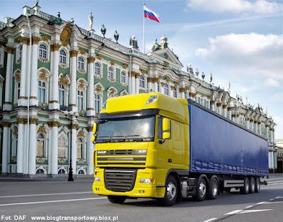 DAF XF w Rosji