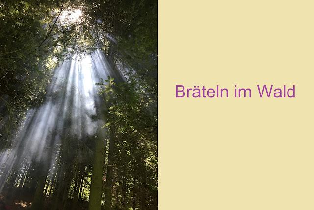 Bräteln im Wald