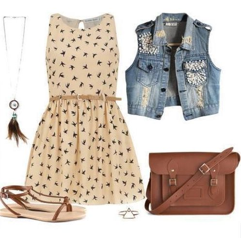 Outfits primaverales!!