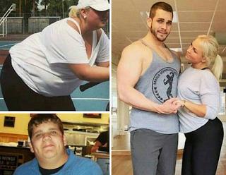 Ζευγάρια που άλλαξαν τελείως! ΠΩΣ μεταμορφώθηκαν με γυμναστική και δίαιτα! ΕΙΚΟΝΕΣ
