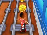 """في لعبة """"Run Run Boy"""" ستركض وستستغرق وقتًا طويلاً جدًا. الولد الصغير يحب أن يلعب الحيل. هذه المرة قرر الذهاب إلى محطة السكة الحديد لرسم القطارات"""