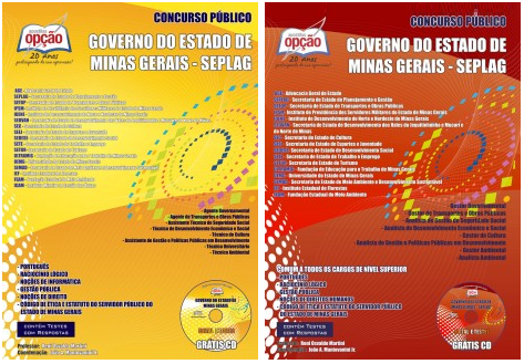 Apostila SEPLAG MG concurso FJP EPPGG 2017-2018