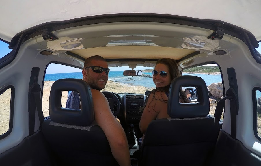 Roadtripping Paros Greece