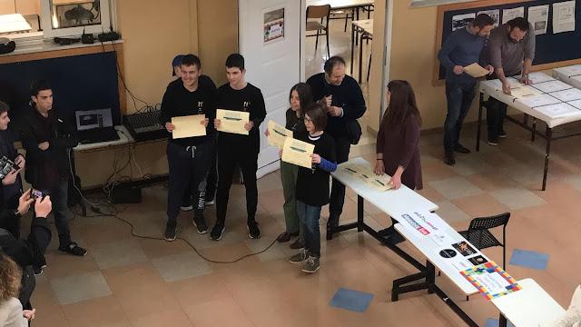 Η ομάδα ρομποτικής του 4ου Γυμνασίου Άργους προκρίθηκε για το πανελλήνιο πρωτάθλημα