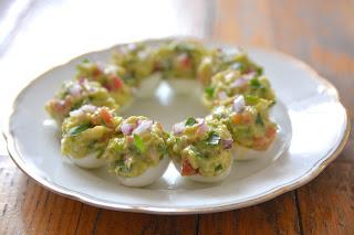 zdjęcie: jajka faszerowane