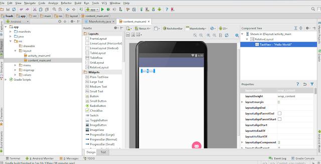 Create Aplikasi View di Android