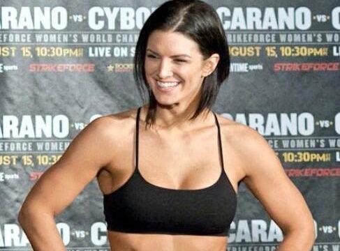 Gina Carano perfeita Gata   Gina Carano lutadora de MMA