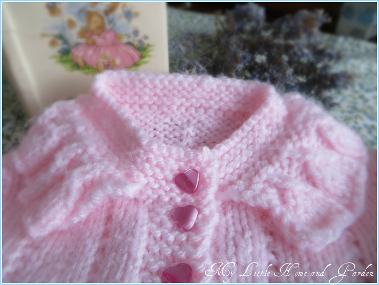 My Little Home And Garden A Little Knitted Baby Sweater
