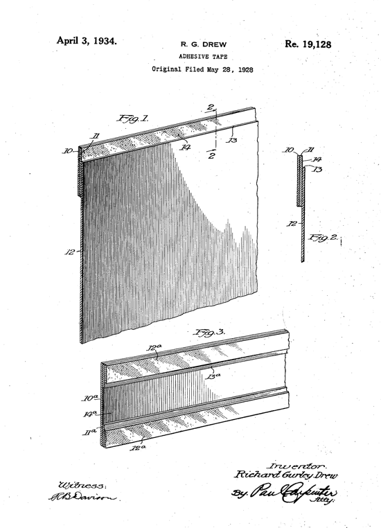 Scotch tape Patent