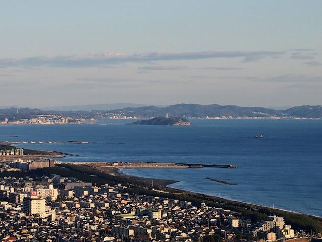 湘南平 高麗山公園 江ノ島