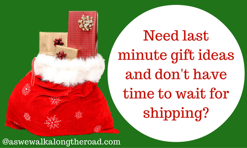 Last minute gifts no shipping needed