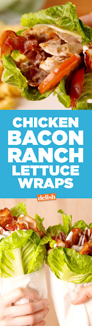 Chicken Bacon Ranch Lettuce Wrap Recipes