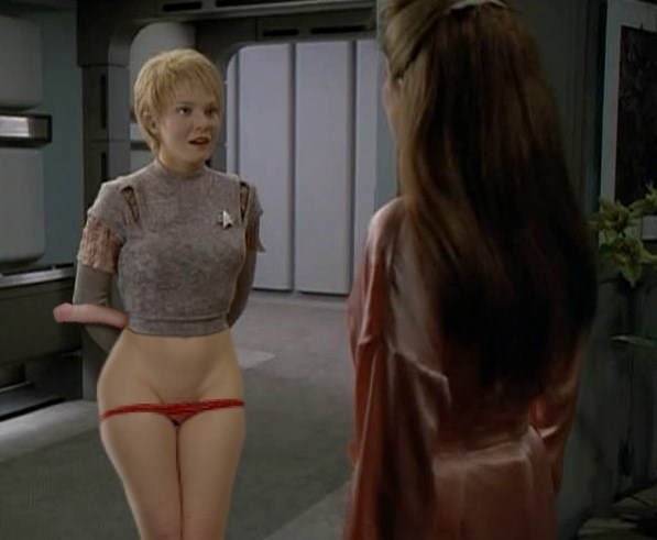 Hope, you naked star trek women nude