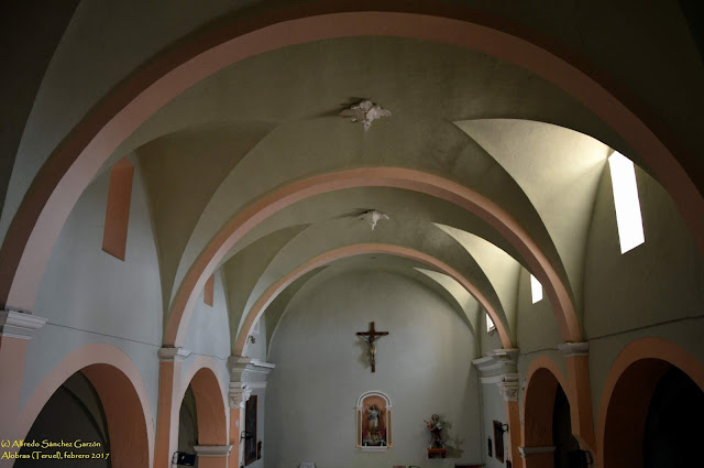 alobras-teruel-iglesia-parroquial-cupula-nave