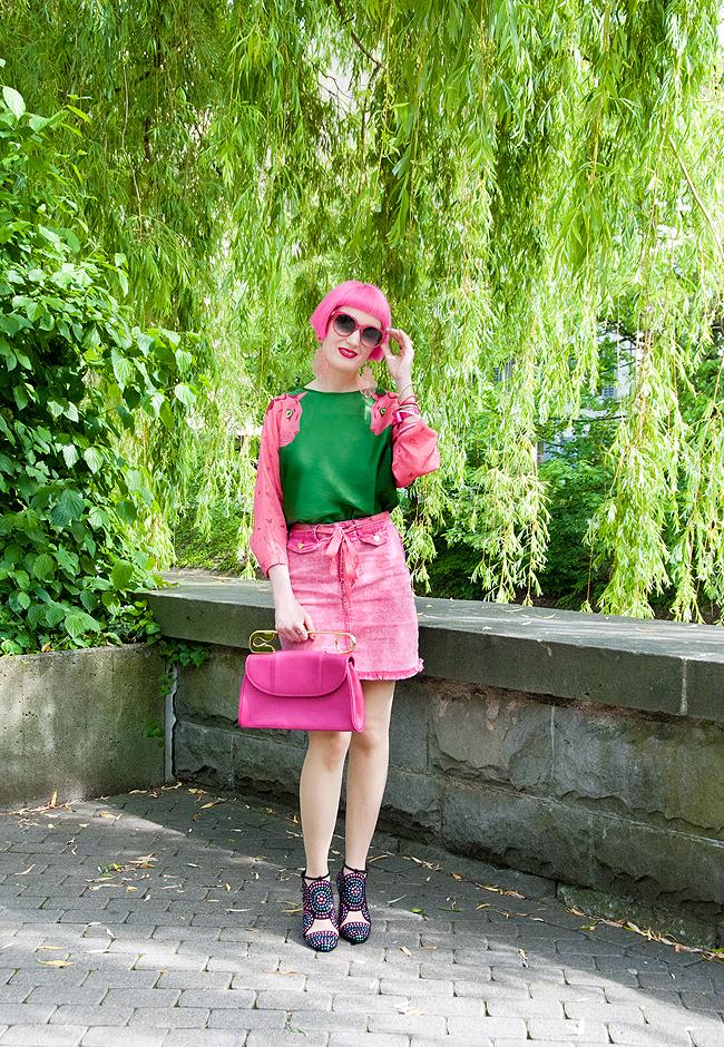 swissfashionblogger, pink summer look, cleo ferin mercury