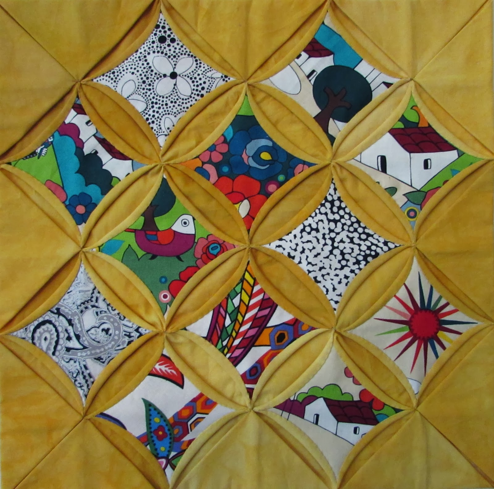 Martha Tsihlas Del Sol Quilts Cathedral Windows Update