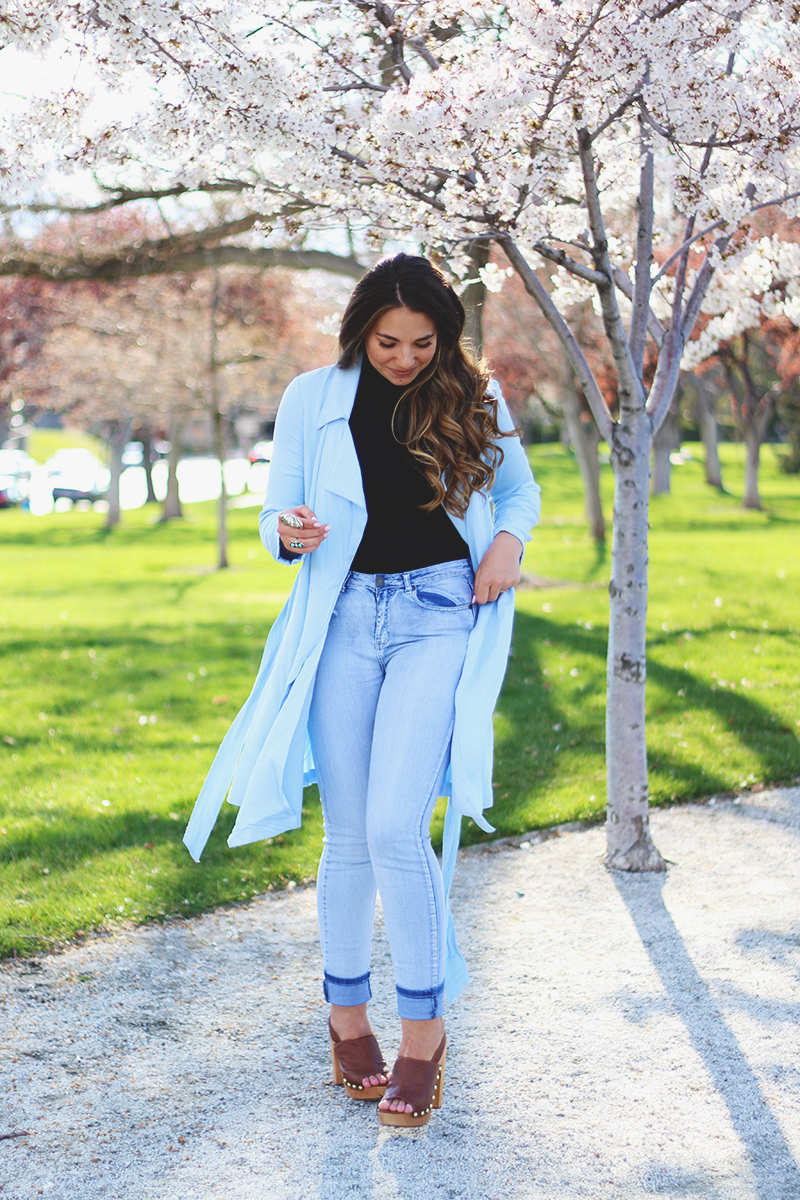 curvy girl outfits, spring jacket, trench coat