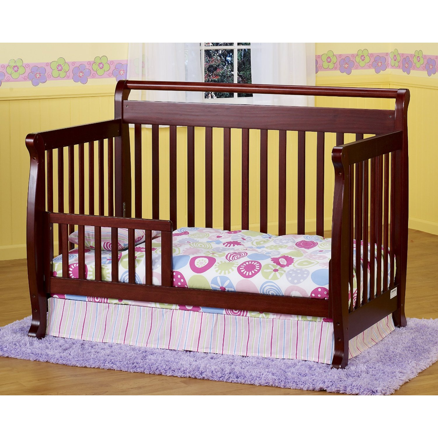 5 Cool Cribs That Convert To Full Beds: 3 In 1 Baby Crib Plans
