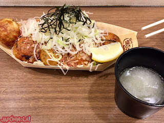 Takoyakis en Nakano Broadway, Tokyo