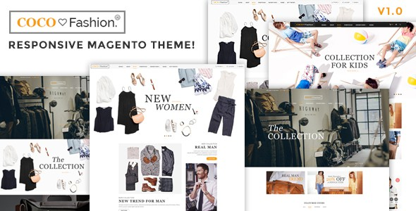 Coco Fashion Responsive Magento Theme