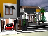 Desain Garasi Mobil Pada Rumah Minimalis