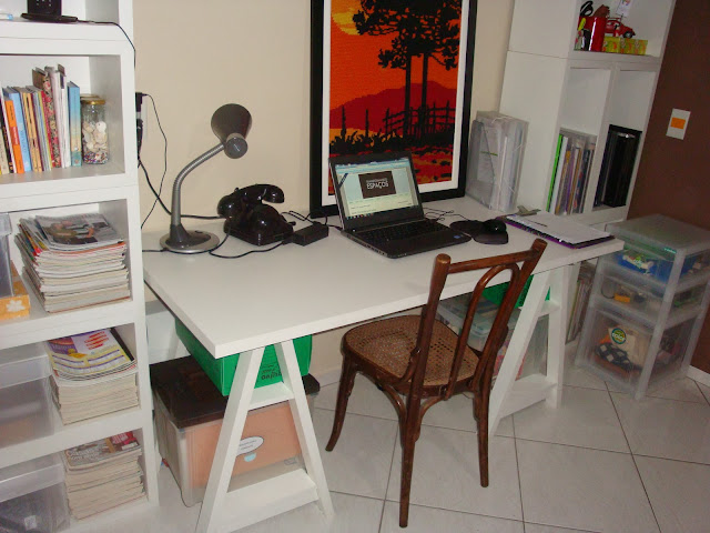 Home Office em novo local