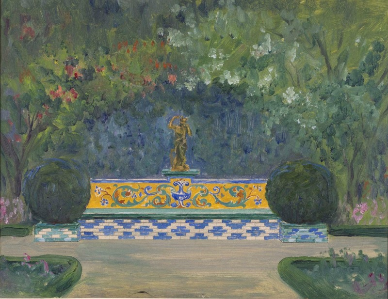 Proyecto de jardín, 1914 | Javier de Winthuysen y Losada