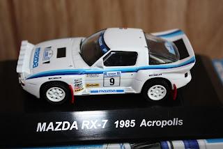 CM's Mazda RX-7 1985 Acropolis