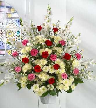 Contoh Gubahan Bunga Simple