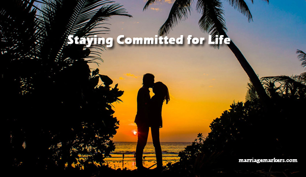 staying committed- love- marriage -relationship - health