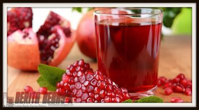 jus delima, darah rendah, 7 cara sehat ini, cara sehat alami