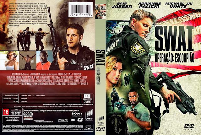 Capa DVD S.W.A.T. Operação Escorpião [Custom]