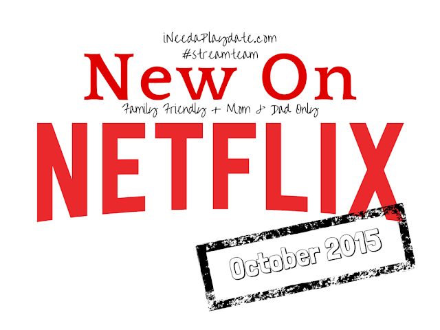 New TV shows, movies. and originals streaming on Netflix in October 2015   #streamteam
