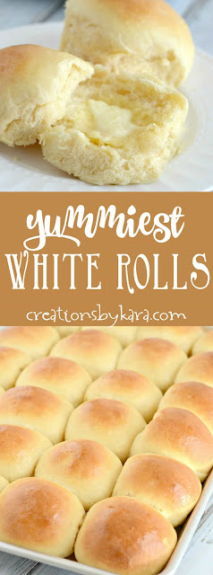 Yummy White Rolls Recipe