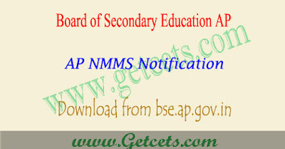 AP NMMS Application Form 2020-2021 notification @bseap