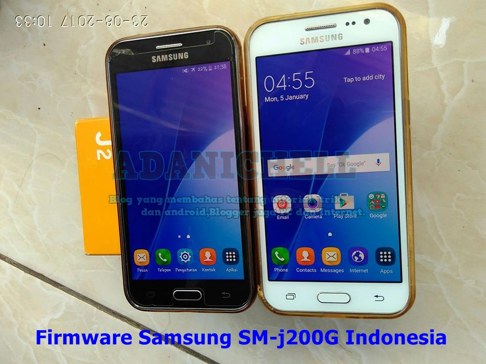 Firmware Samsung SM-j200G Indonesia - AdaniChell-Software ...