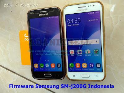 Firmware Samsung SM-j200G Indonesia