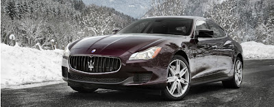 New Photos of Maserati Quattroporte