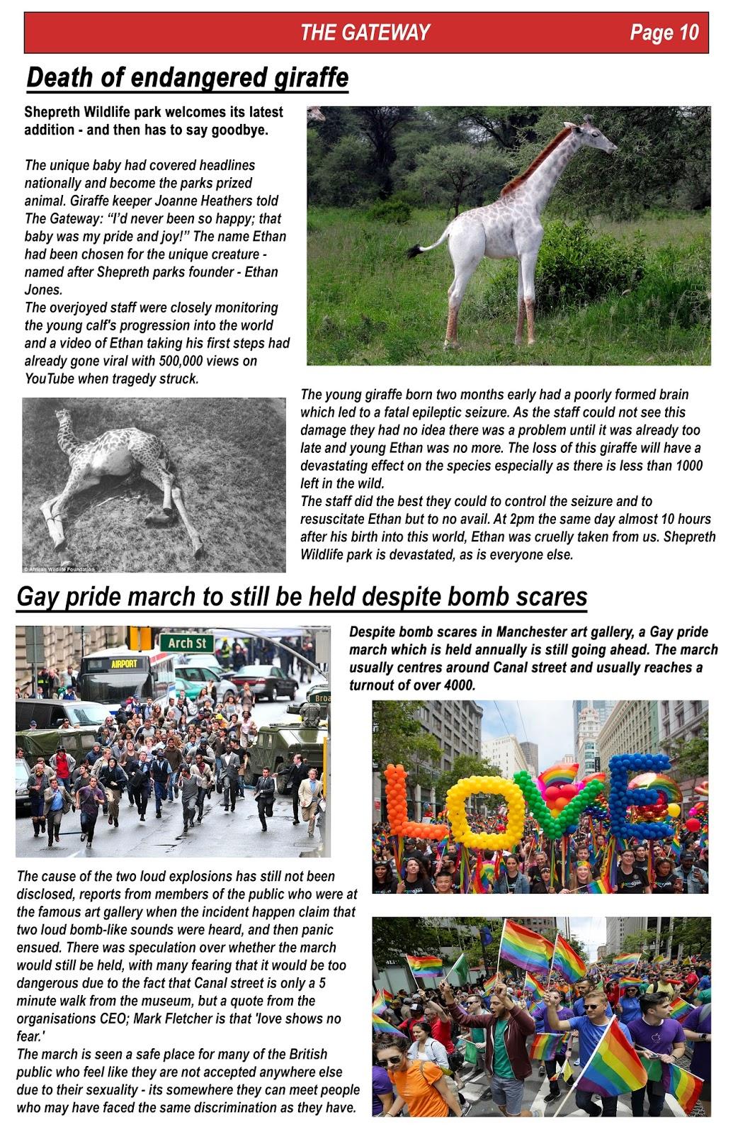 A-Level Media Studies: Q block newspaper project: 'The ... - photo#21