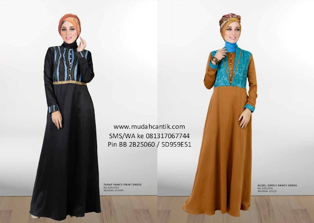 Gamis Zoya Lebaran 2016 Cantik Berbaju Muslim