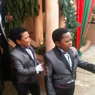 PICTURES From Chinedu Ikedieze aka Aki's Secret Wedding Today 3