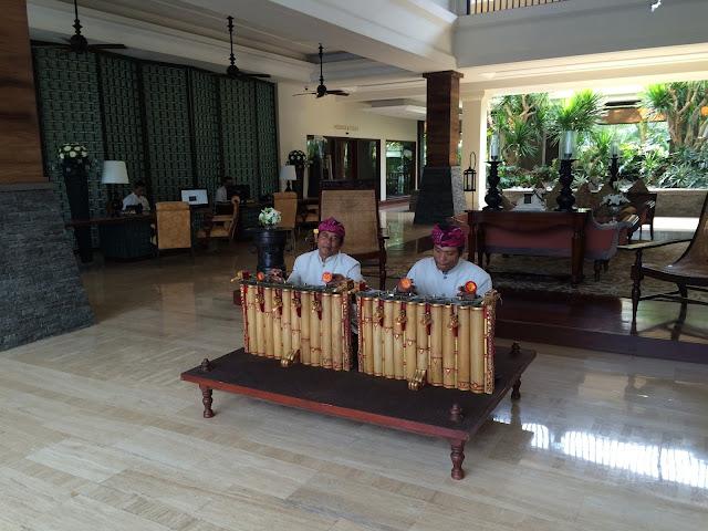 The St. Regis Bali Resortのロビーの写真
