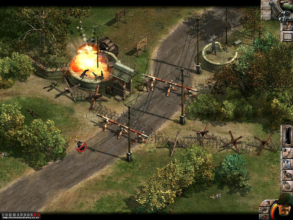 Commandos: behind enemy lines free download.