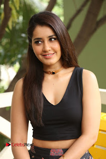 Actress Rashi Khanna Pictures at Hyper Movie Interview 0133