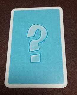 プルンプザック アイテムカード裏面 青地に「?」