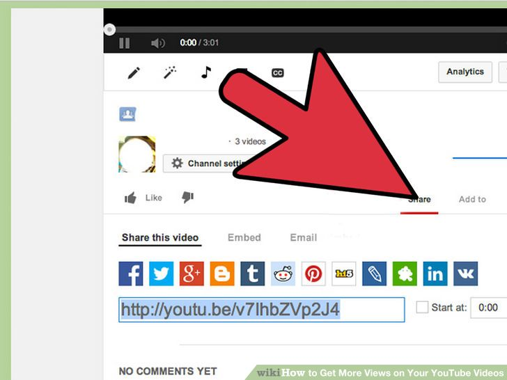 how to promote your youtube video to get more views
